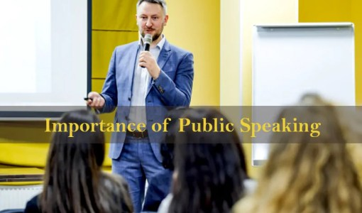 Importance of Public Speaking