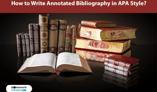 How to Write Annotated Bibliography in APA Style