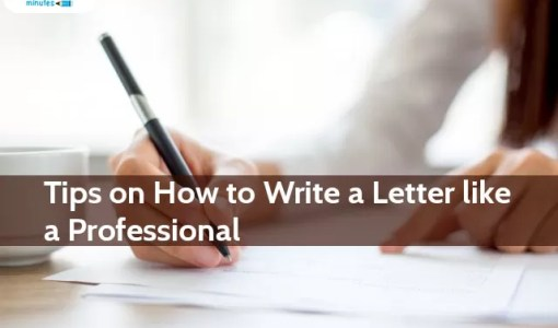 Tips on How to Write a Letter Like a Professional