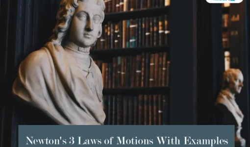 Newton's-3-Laws-of-Motions-With-Examples