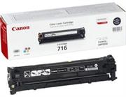 Canon Original Replacement for Canon 716 Black Toner Cartrid