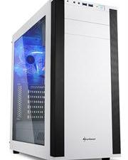 Sharkoon (4044951019335) M25-W ATX Tower PC Gaming Case Whit