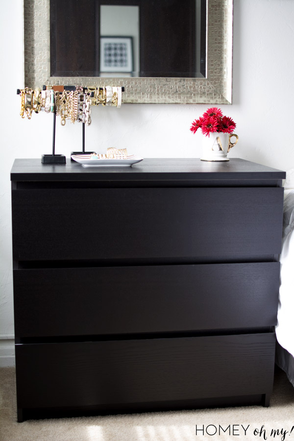 Campaign Style Dresser Ikea Malm Makeover Homey Oh My