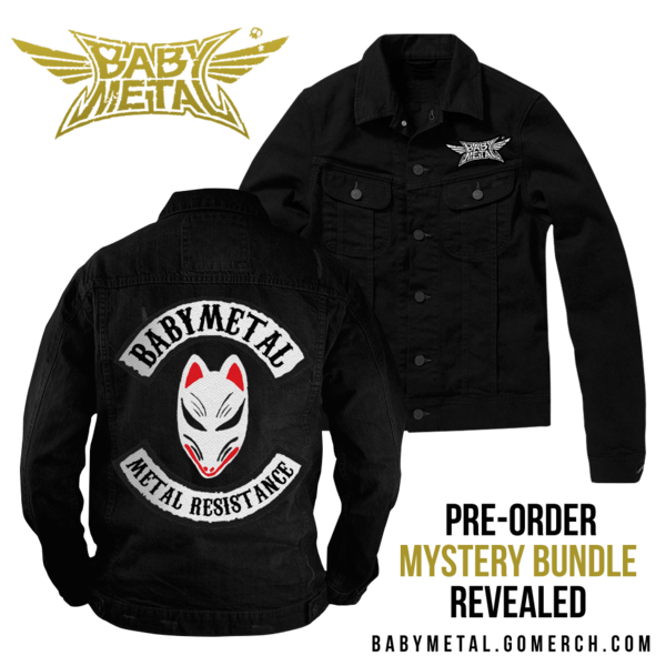 Bad-as-fuck Babymetal Metal Resistance jacket