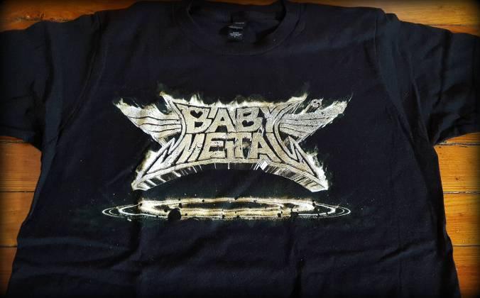 Babymetal Metal Resistance t-shirt