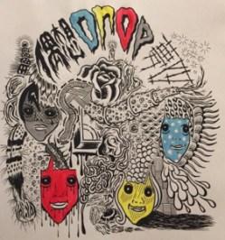 Cover art for Guso Drop's mini-album Mushi