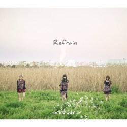 Cover for Japanese idolcore rock idol group petit pas! album Refrain