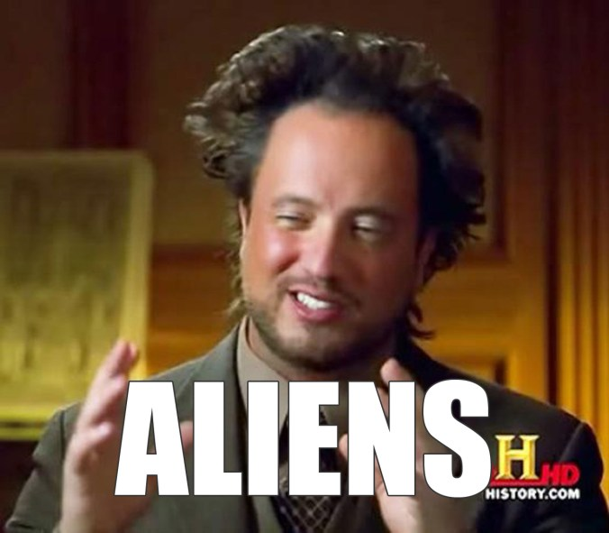 Aliens guy from Ancient Aliens