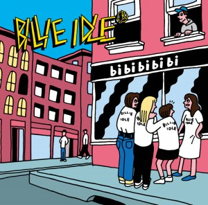 Cover for Japanese idol punk group Billie Idle's bi bi bi bi bi album