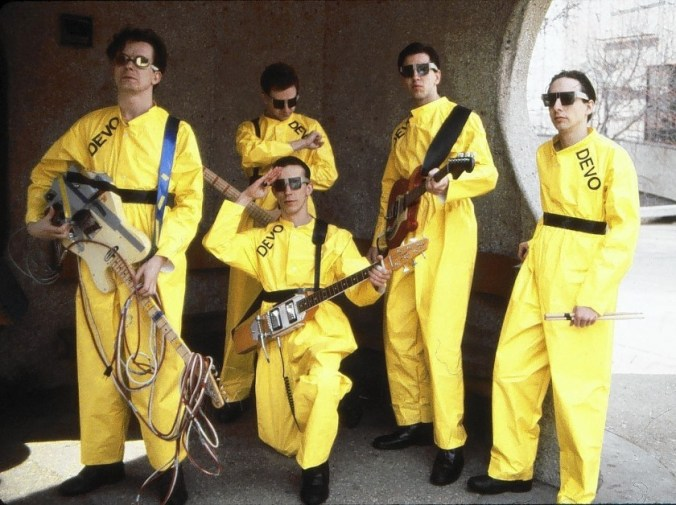 American rock band Devo