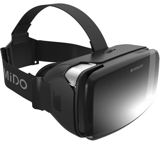 , スマホ VRゴーグル VR動画 FPVの HOMIDO VR