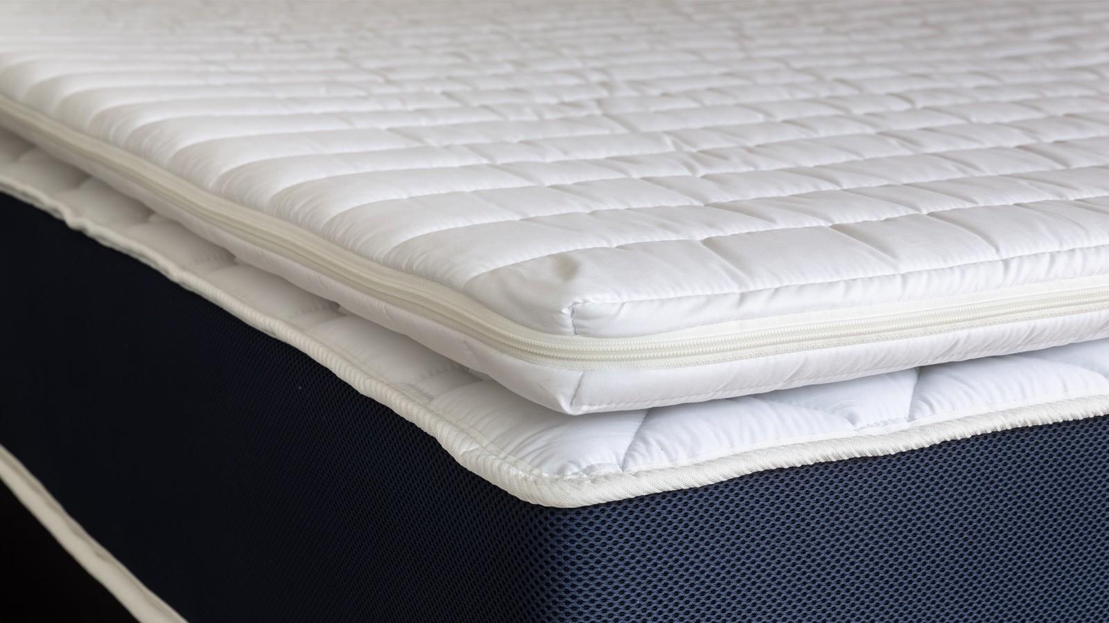 sur matelas dehoussable 160x200 confort plus hbedding mousse polyurethane