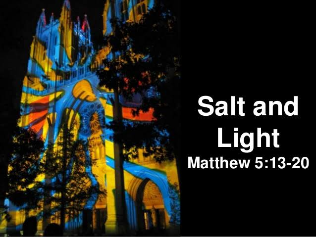 Homily for the 5th Sunday in Ordinary Time Year A (5)