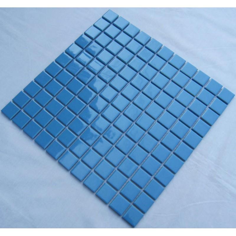 glazed porcelain square mosaic tiles