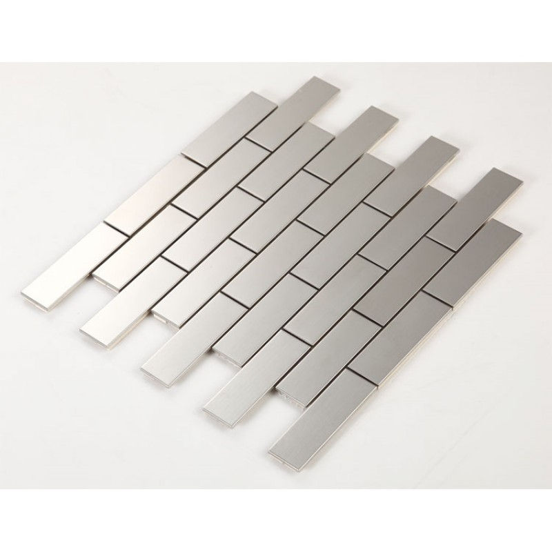 stainless steel tile with base kitchen