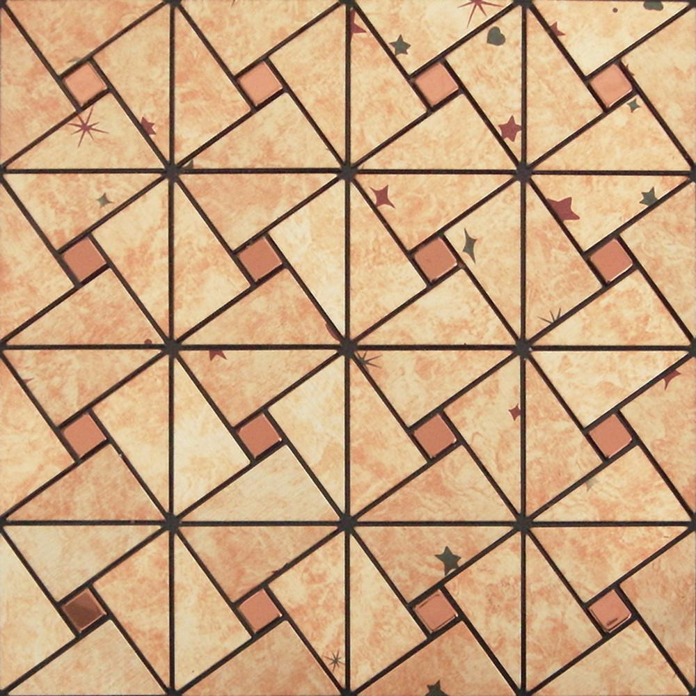 peel and stick tile pinwheel patterns aluminum metal wall tile glass diamond tiles adhsive mosaic mh asj 006
