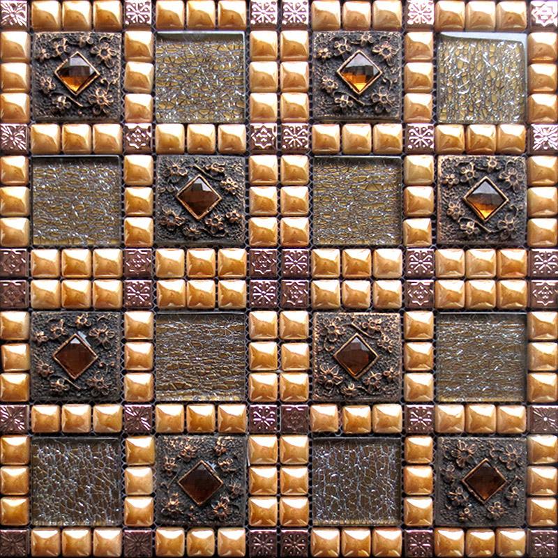 porcelain tile snowflake style mosaic art design wy 888