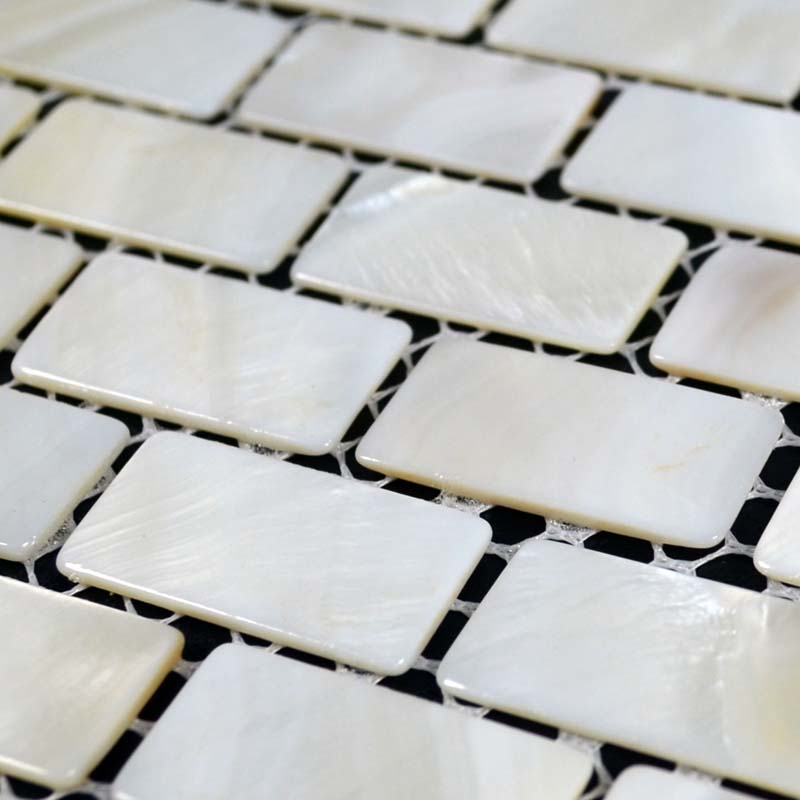 wholesale mother of pearl mosaic kitchen backsplash design subway tile