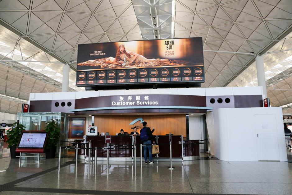 { 香港 } Hongkong Airport & Shops (香港国際空港&ショップ)