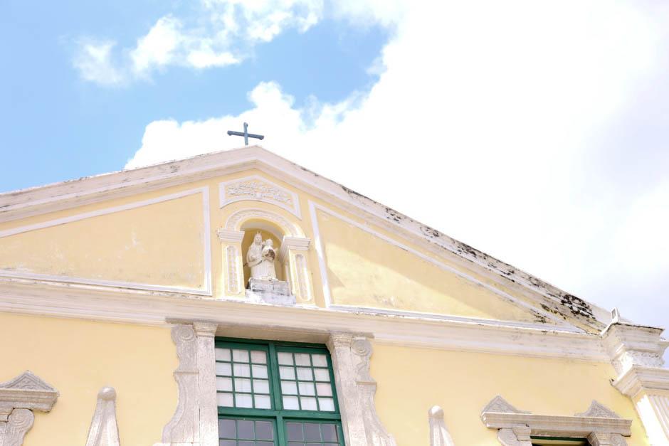 { マカオ } St. Augustine Church (世界遺産 : 聖オーガスチン教会)