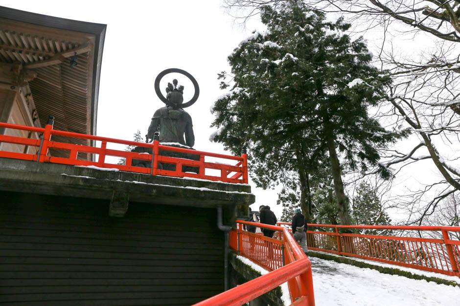 { 富山 } OOIWASAN NISEKI Temple (大岩山日石寺)
