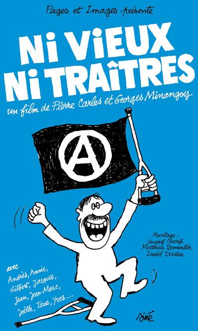 Affiche de Siné du film de Carles et Minangoy (première version)