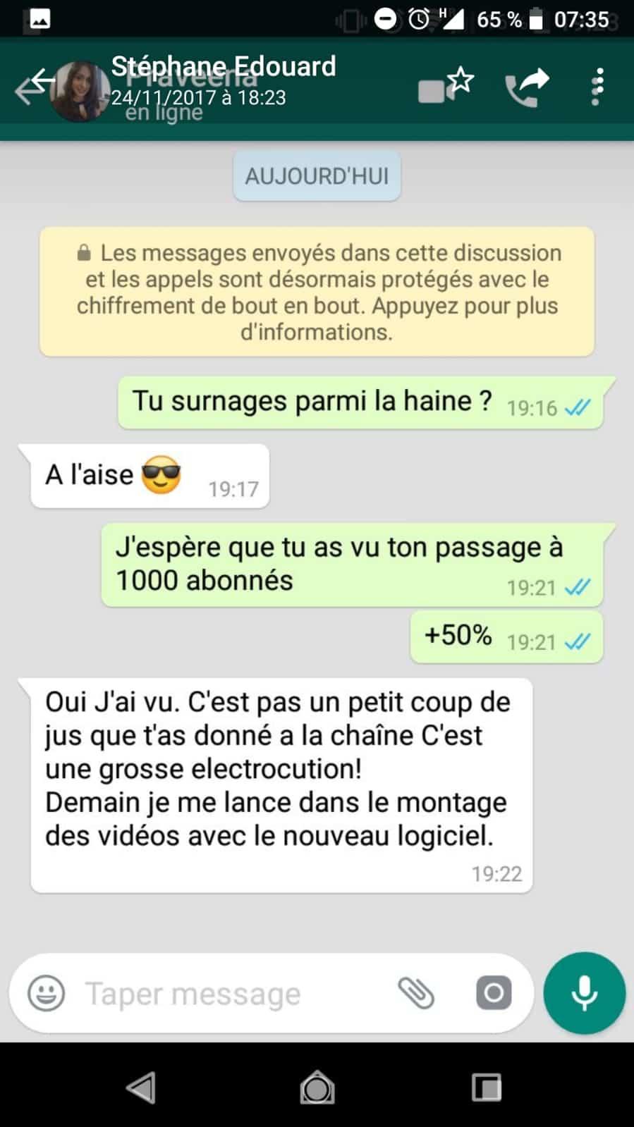 Stephane Edouard A Repondu Aux Kheys Qui Le Parodient Sur Le Forum Blabla 18 25 Ans 21 08 2020 11 24 48 Page 4 Jeuxvideo Com