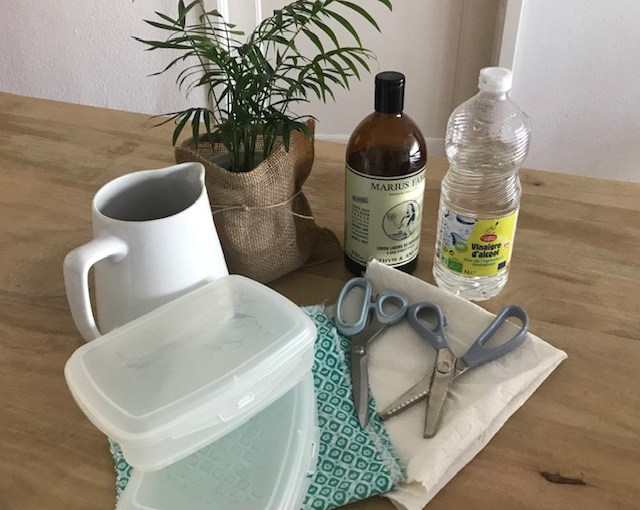Fabriquer ses lingettes antibactériennes pour le ménage