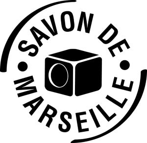 Le logo de l'Union des professionnels du savon de Marseille est la garantie d'un authentique savon.
