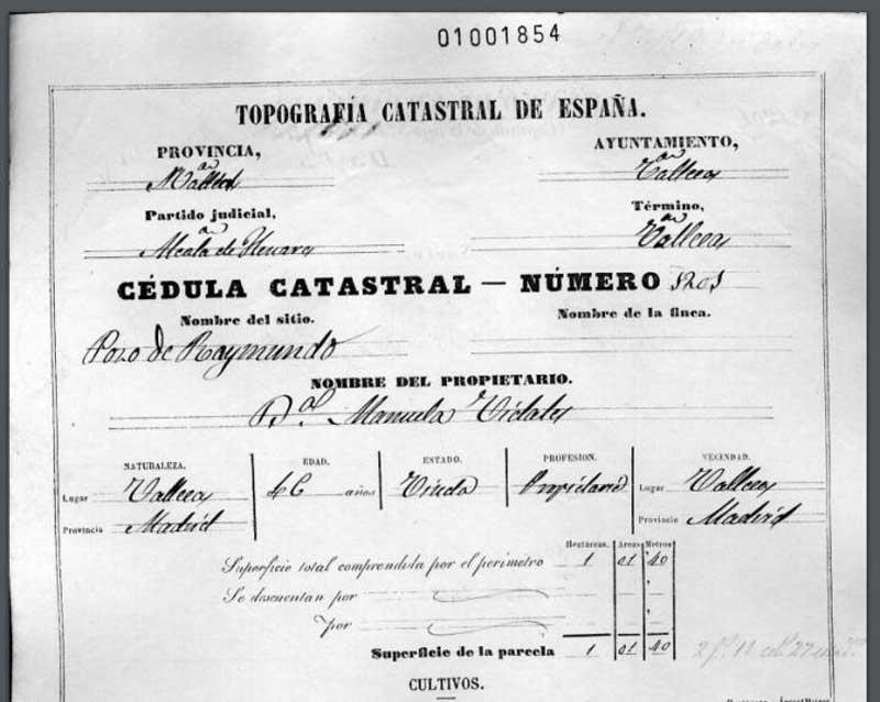 Pozo del Tío Raimundo 1864