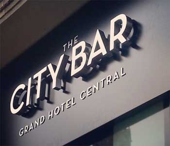 City Bar Grand Hotel Barcelona