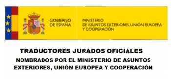 Traductores jurados oficial