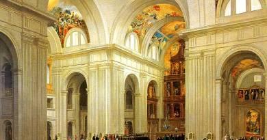 Brambilla interior del templo del real monasterio