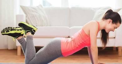 Hacer ejercicio en casa