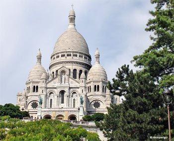 Basílica Sagrado Corazón Montmartre