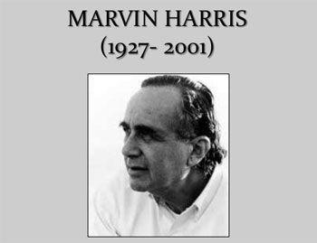 Marvin Harris Antropología materialista