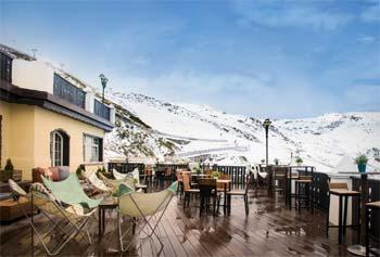 Hoteles estación esquí Sierra Nevada