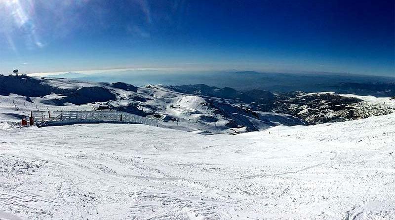 Pista de esquí de Sierra Nevada