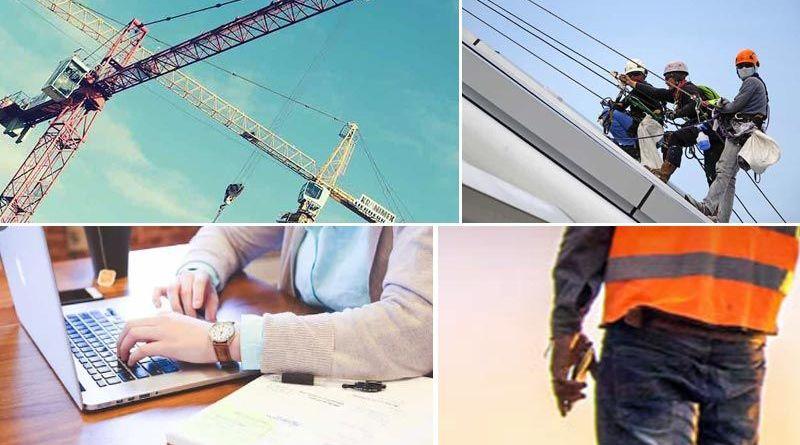 Protección riegos-laborales sector construcción