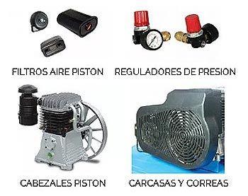 Repuestos y recambios para compresores