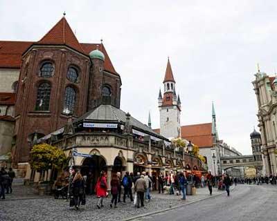 Viktualienmarkt, Munich