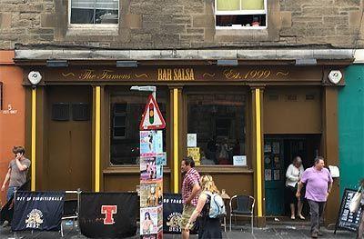 Bar Salsa en Edinburgo