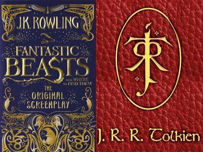 Logo JK Rowling J.J. Tolkien