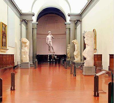 Estatua David de Miguel Ángel Academia