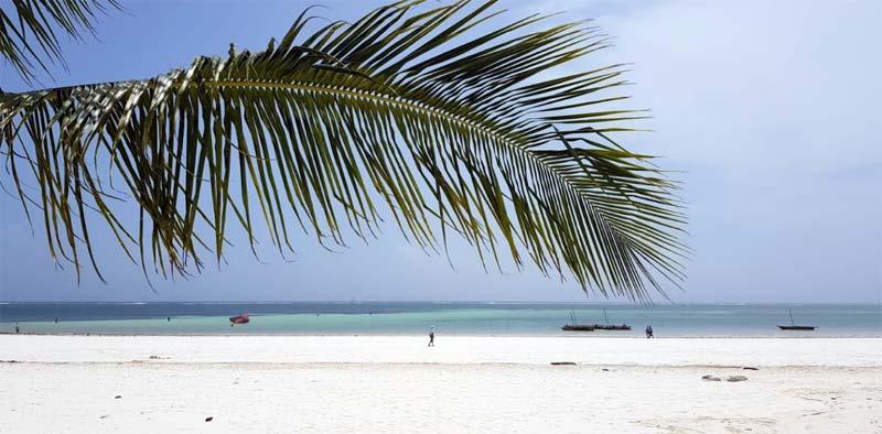 Playas de Diani Kenia