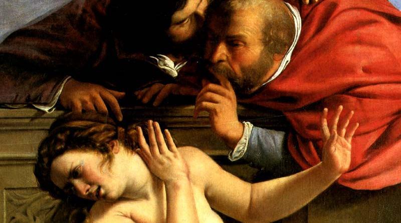 Susana y los viejos Artemisia