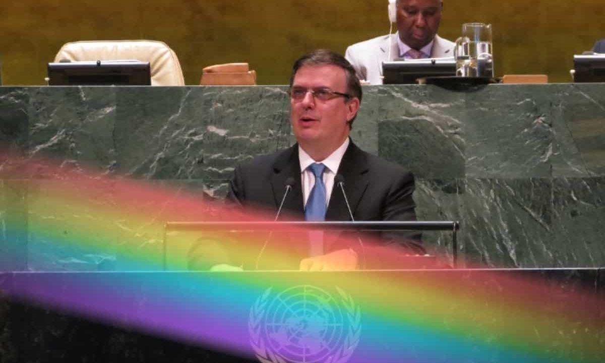 Canciller México LGBT