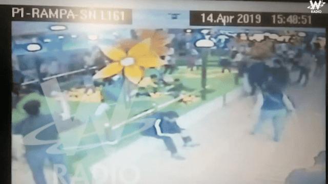 video agresión gays Colombia
