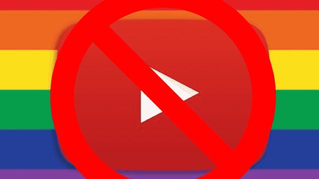 YouTube homofobia