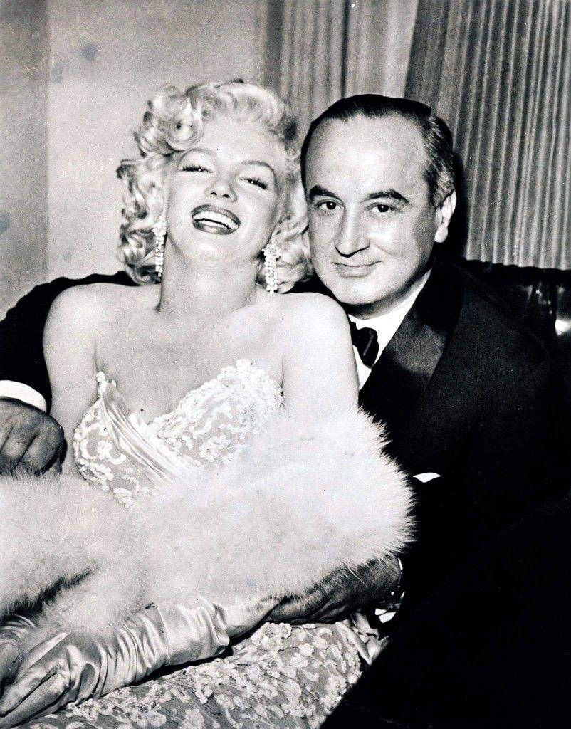 Marilyn Monroe y Jean Negulesco